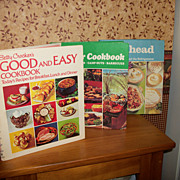 Three Vintage Betty Crocker Recipe Books, 1973