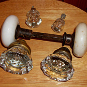 Porcelain and Crystal Door Knobs/Handles