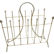 Vintage Retro Magazine Rack Holder