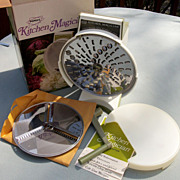 SOLD Popeil Kitchen Magician Food Cutter, Slicer, Shredder, New In Box