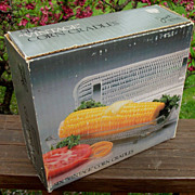 Javit Crystal, 6 Vintage Corn Cradles, New In Box
