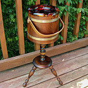 Vintage Smoking Stand, Pedestal Ashtray, Plant Stand