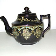 SOLD Vintage Price Bros. Ltd., Burslem, England Tea Pot - Ornately  Embellished