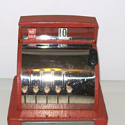 Vintage Original Tom Thumb Toy Cash Register with Original Box