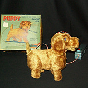Vintage Remote Control Walking Dog - Puppy Toy with Original Box
