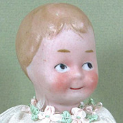 "6 1/2"" Charming GOOGLY Toddler ~ Unmarked German"