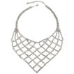 Crystal Rhinestone Bib Necklace