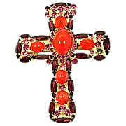 Juliana Designer Cross Pin and Pendant