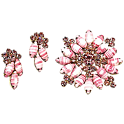 Juliana Designer Demi of Brooch and Earrings