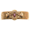 Victorian Rose Gold Filled Belt Motif Bracelet