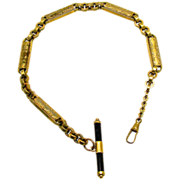 Extremely Large and Heavy Gold Filled Watch Chain
