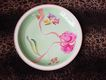 H&Co Heinrich German Porcelain Handpainted Butterfly Insect Charger