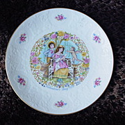 SALE Vintage 1978 Royal Doulton Valentine's Day Plate