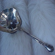 SALE Gorham Chantilly Sterling Silver Bon Bon or Nut Sifter/Scoop