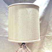 FREE SHIPPING 1960's 1960s Hand Made Mid Century Modern Pottery Home Decor Table Lamp Vintage