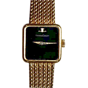 Beautiful Vintage Ladies Jaeger LeCoultre 18k Gold Casual/Dress Watch