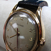 Vintage Richard Automatic Men's Wristwatch 18k Gold