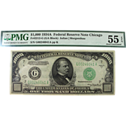 1934A $1000 Federal Reserve Note FRN - Strong XF-AU Note