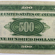 1934A MULE $500 Bill RARE- Federal Reserve Note, Strong VF
