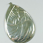 1977 Limited Edition Mother & Child Sterling Ornament by Gorham