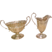 Sterling Silver Vintage WM. B. Durgin CO. Cream & Sugar Set