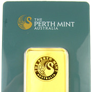 Collectible Perth Mint 1 Oz. 9999 Gold Bar