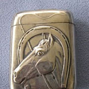 Horsehead/Horseshoe Silver Match Striker