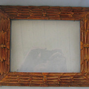 Early TRAMP Art Carved Frame