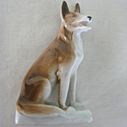 SALE Old German Sheperd Dog Figurine - Germany