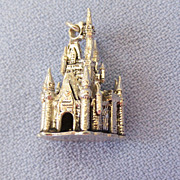 Sterling Disney Magic Kingdom/Castle Charm