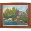 "Oil On Canvas ""Mill Of The Ozarks"" by W. Keenum"