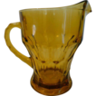 Anchor Hocking Pitcher Amber Color