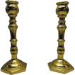 Virginia MetalCrafters Solid Brass Candlestick Holder