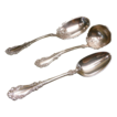 Berkshire Silverplate Spoons (3) Berry Spoon, Gravy Spoon, and Serving Spoon Rogers1897