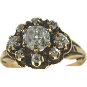 SALE Victorian Diamond Ring