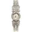 Ladies Diamond and Platinum Jaeger LeCoultre Wristwatch