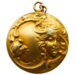 Antique Gold Filled Art Nouveau Locket - Circa 1900