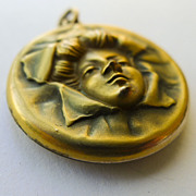 Locket - Gold Filled Magnificent Antique Art Nouveau - Circa 1900