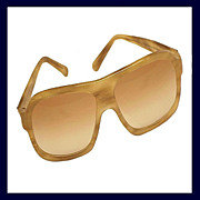 SALE GUCCI 1158/S Blond Tortoiseshell or Horn Color Aviator Sunglasses