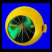 SALE PICCOLO 1960s Futuristic Modern Space Age Ring Watch