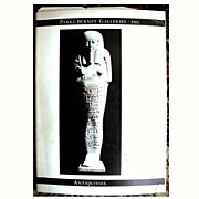 1970 Parke Bernet Auction Catalog Greek Roman Egyptian Etruscan Antiquities with Prices