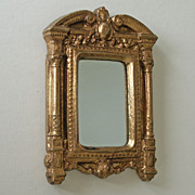 Tiny Handmade in Italy Federal Style Hanging Mirror
