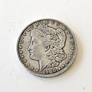 Morgan Silver Dollar 1900-O