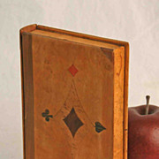 Marquetry Box in the Form of a Book