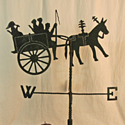 Rare Silhouette Weathervane