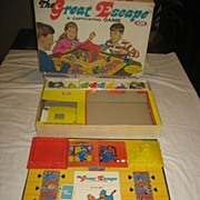 SALE Great Escape 1967 Ideal Vintage Board Game