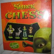 SALE Shrek Chess Set Hand-painted Figurines
