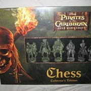 SALE Pirates of the Caribbean Chess Set
