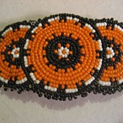SALE Beaded Handmade Vintage Barrette