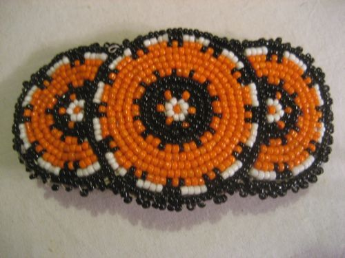 Beaded Handmade Vintage Barrette
